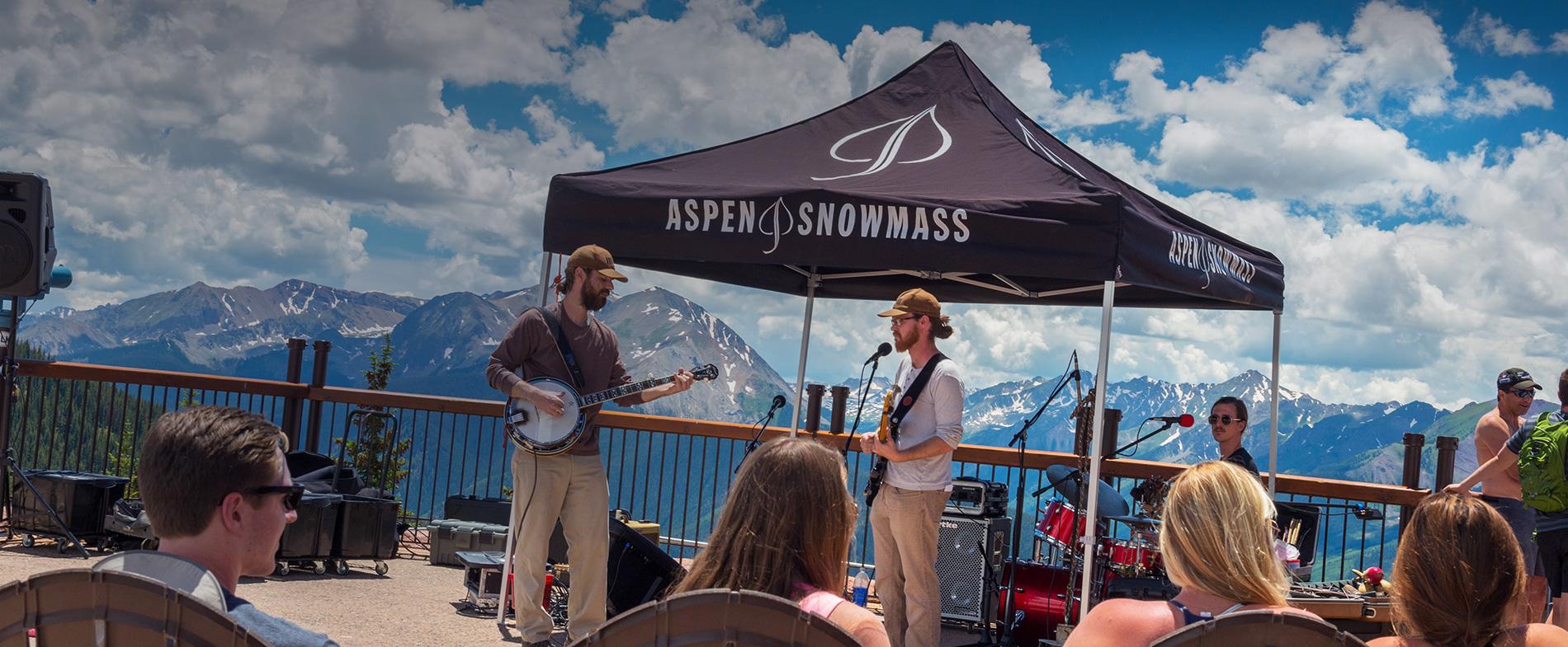 Bluegrass Sundays on Aspen Mountain